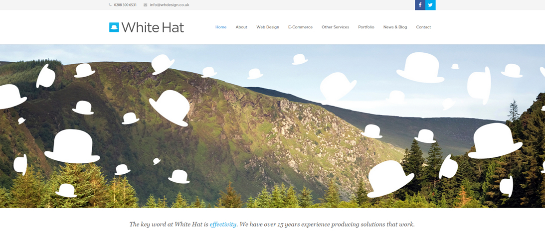 New White Hat Website - Now Live!